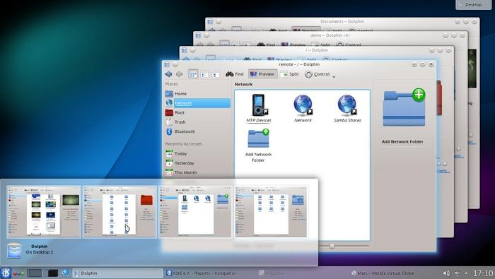 Корректирующий выпуск KDE SC 4.10.2