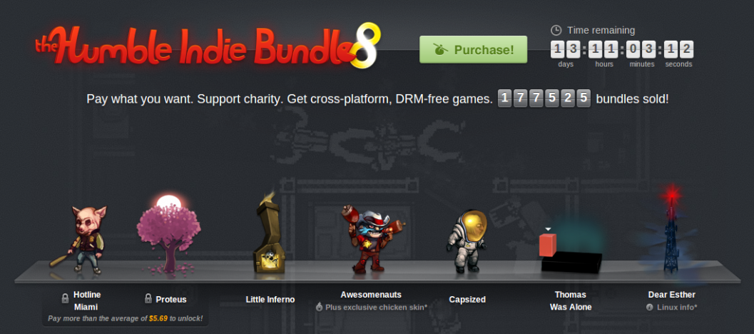 Игры: Вышел Humble Indie Bundle 8