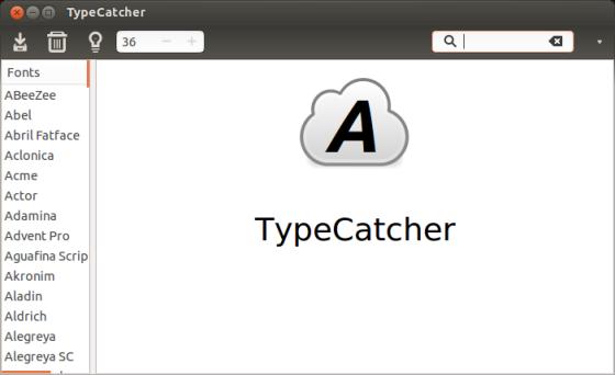 Графика и дизайн: TypeCatcher после запуска