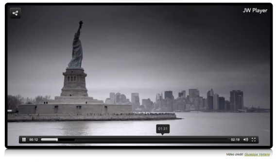 Интернет: Видео в плеере LongTail