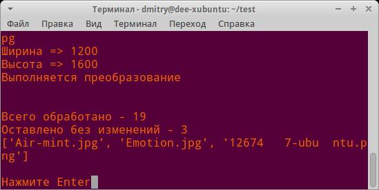 Офисные пакеты: терминал Ubuntu