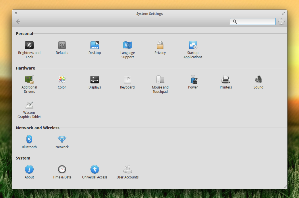 Linux: Настройки