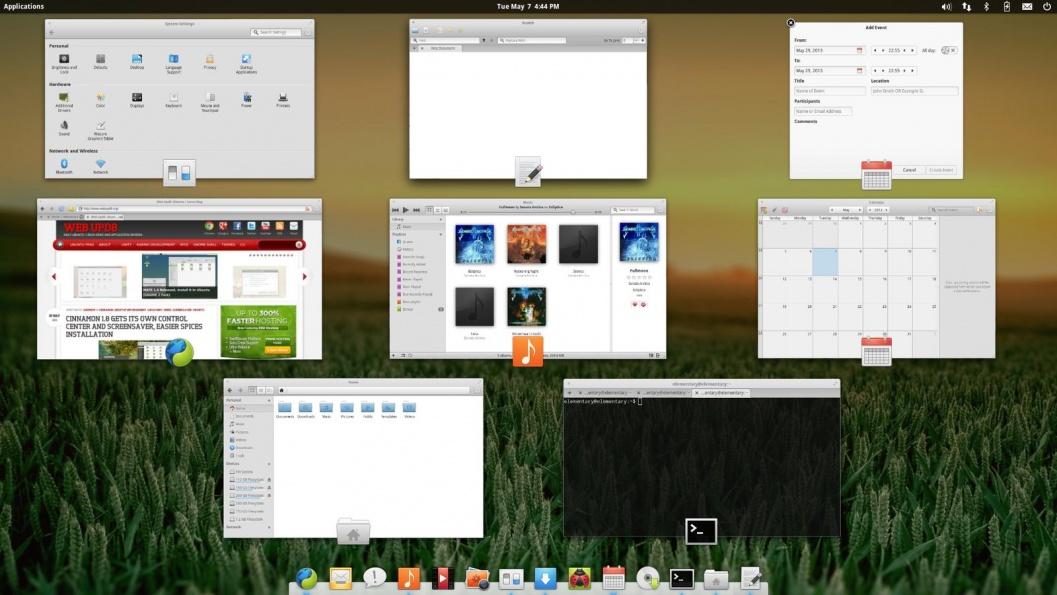 Linux: Переключение между окнами в Elementary OS Luna beta 2