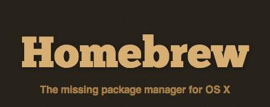 Разработка: Mac OS X: Пакетный менеджер homebrew