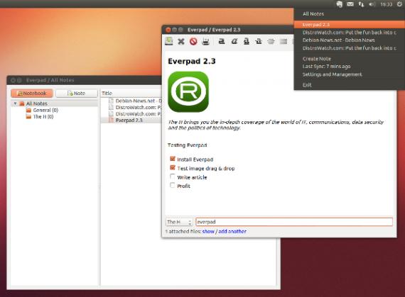 Продуктивность: Everpad в Ubuntu