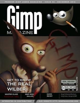 Графика и дизайн: Gimp Magazine выпуск №2