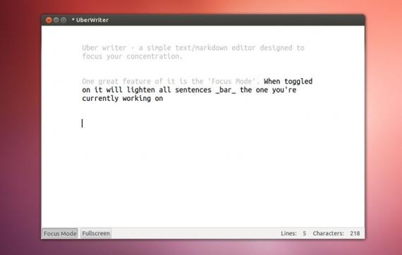 Ubuntu: UberWriter